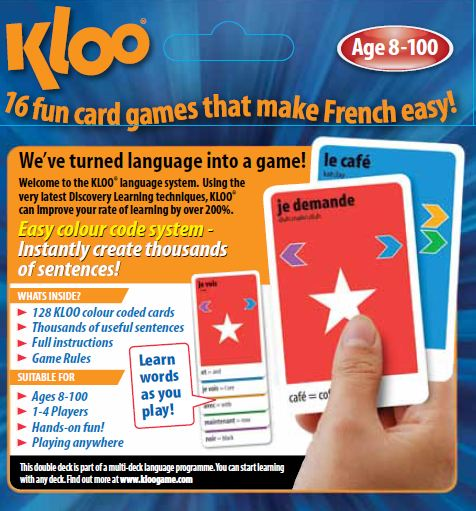 KLOO Games for learning French
