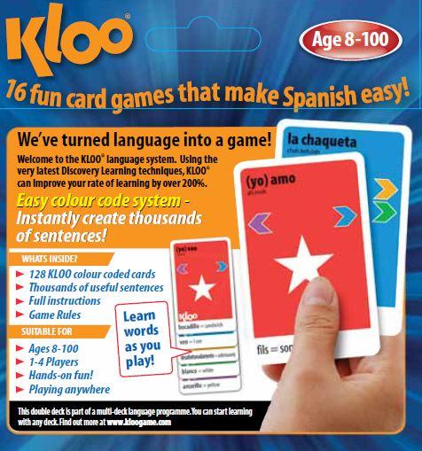 KLOO Learn Spanish Travel Game