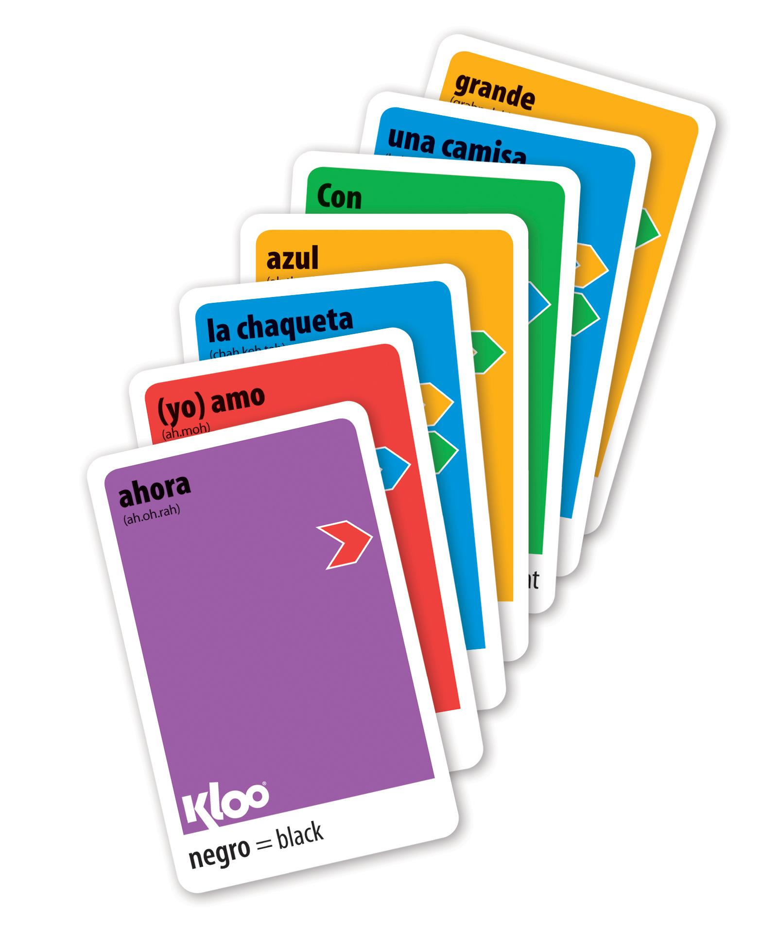Learn Spanish KLOO Games