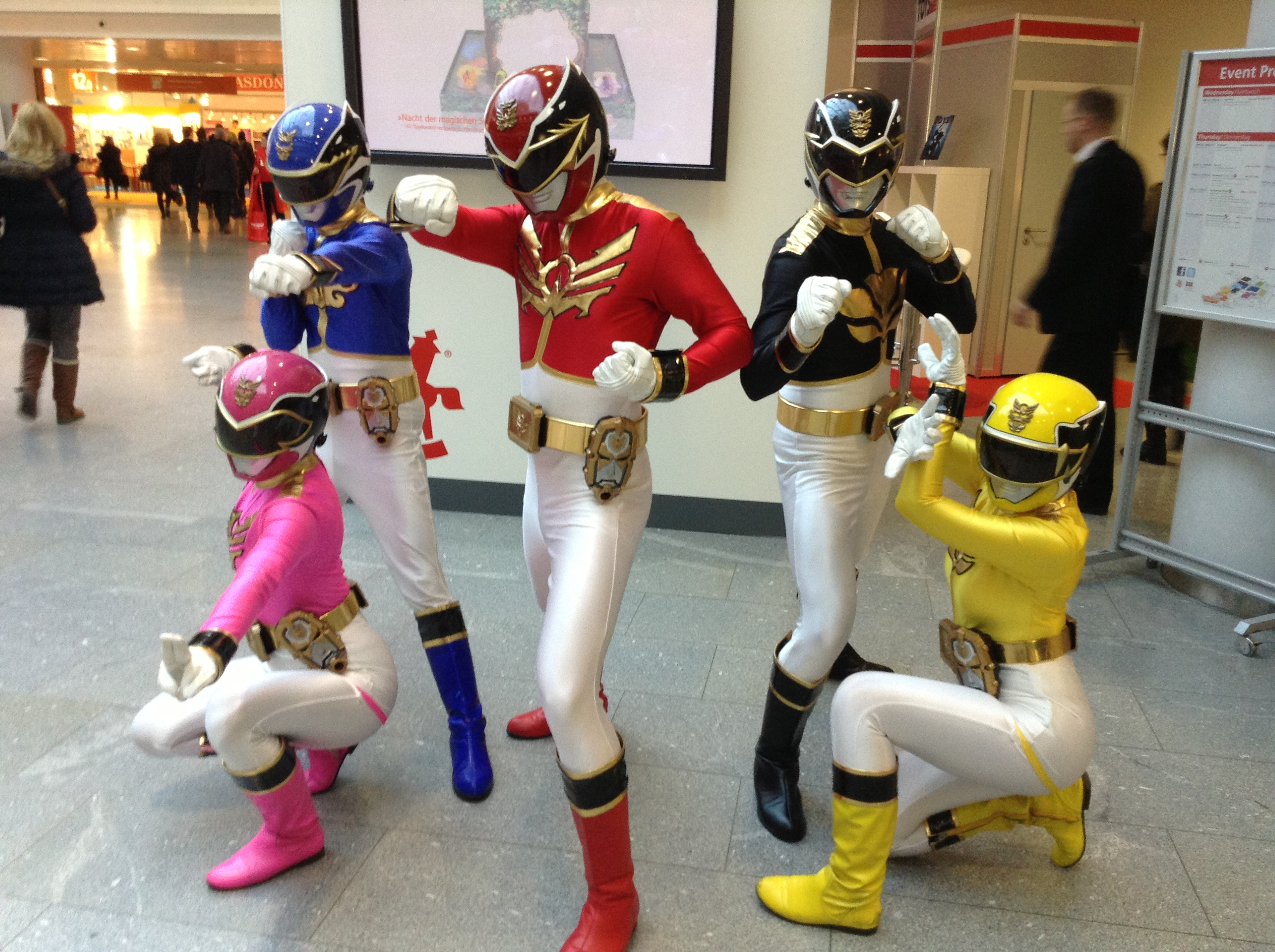 Power Rangers to the Toy Fair