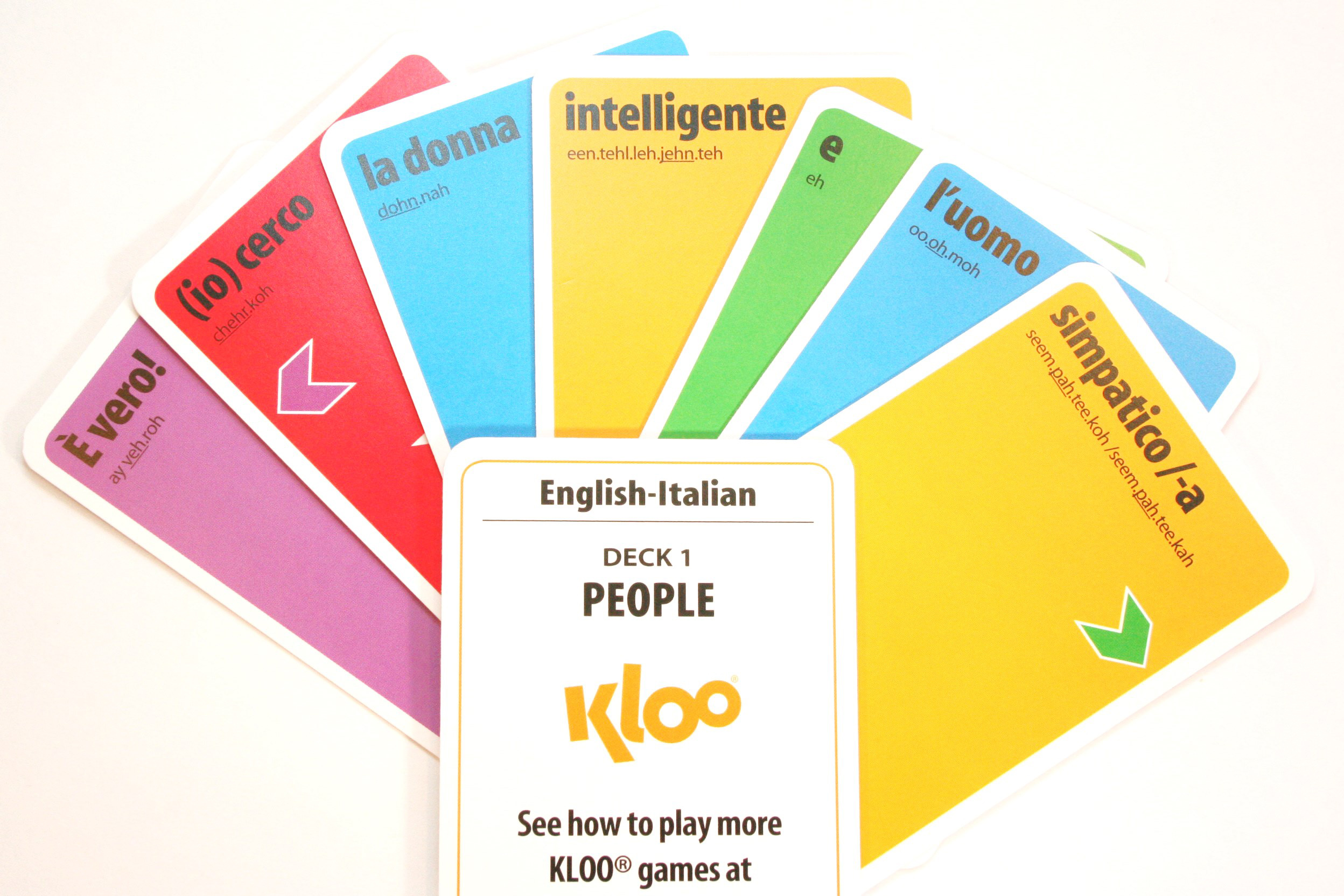 Learn Italian KLOO MFL games