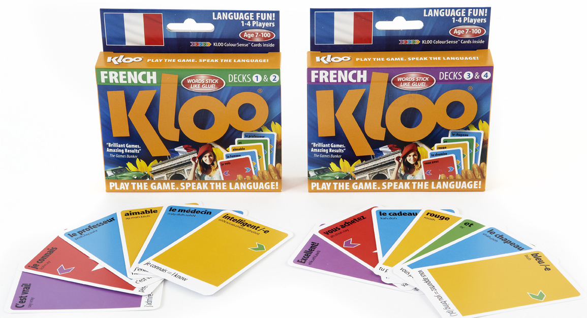 learn French Spanish or Italian language with KLOO MFL Games