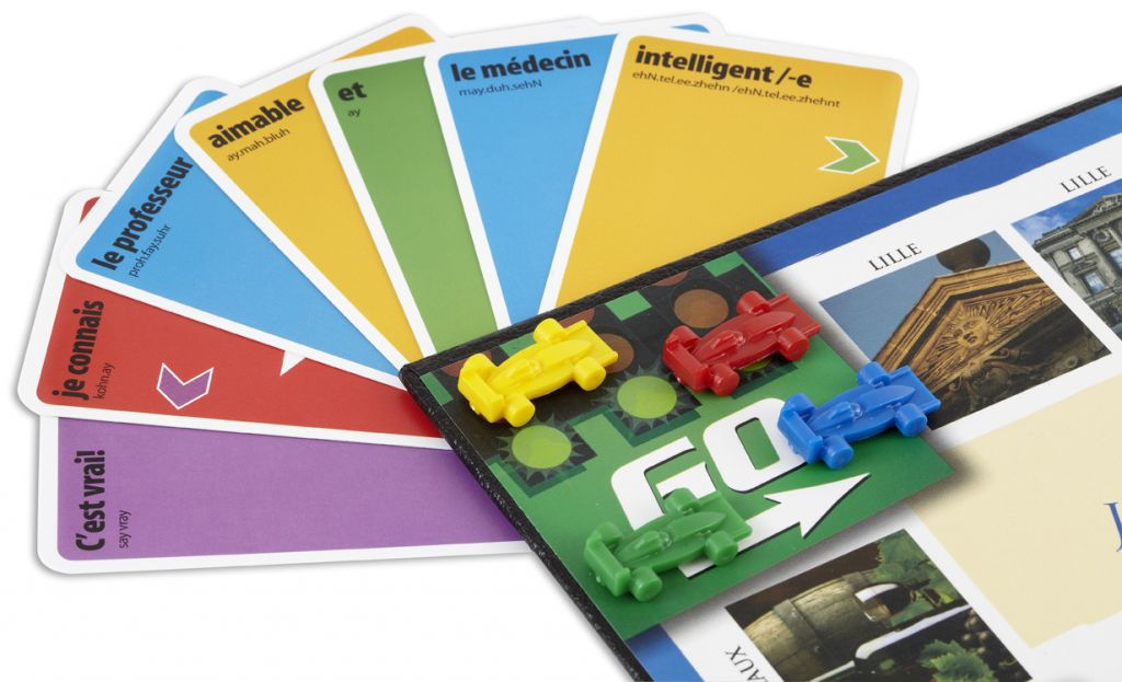 Learn French Board Game from KLOO