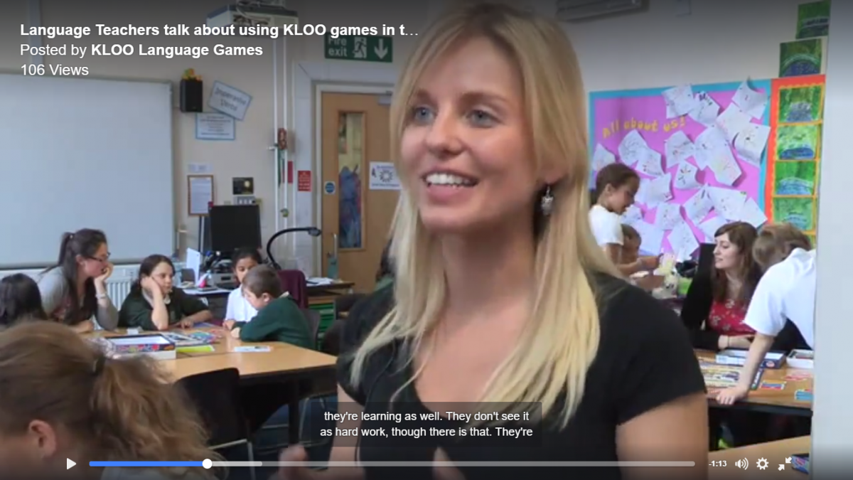 MFL Spanish Teacher talks about language resources