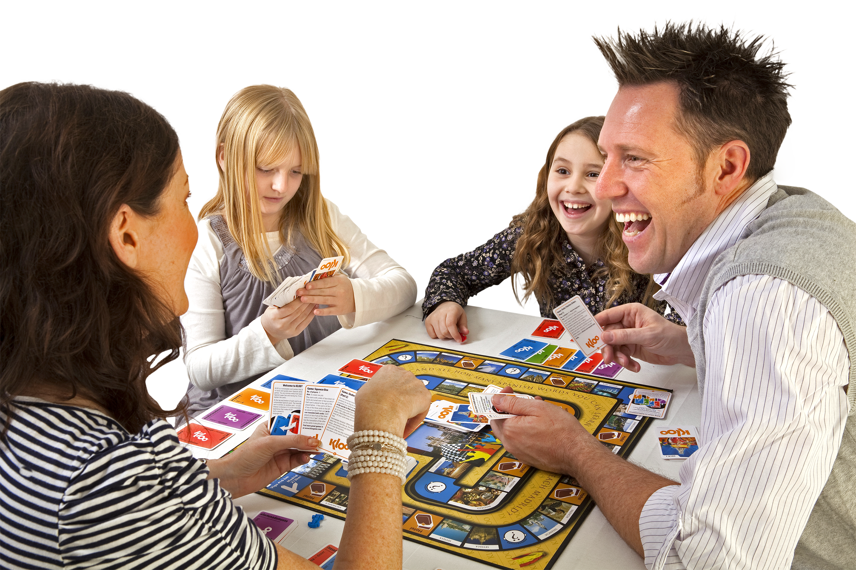 Family French Board Game of KLOO