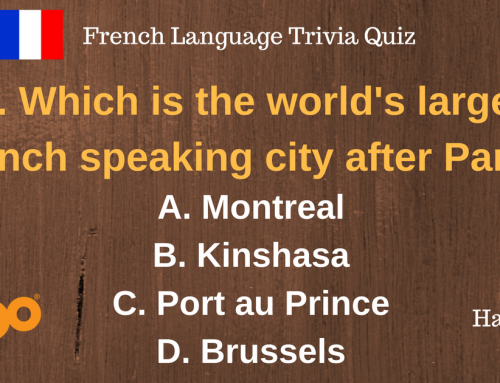 French Language Trivia Quiz…amazing facts about the French language