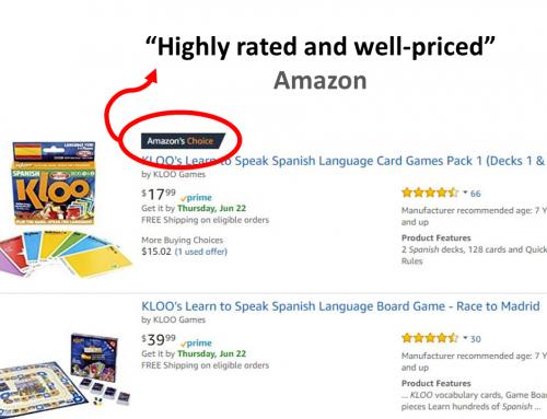 KLOO is Amazon's Choice