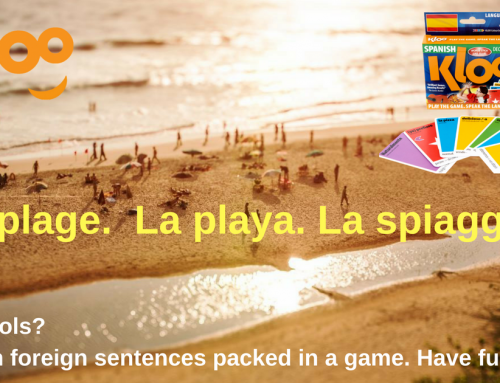 Going on holiday? Pack 6 million foreign sentences in an award winning travel game
