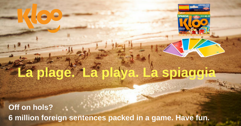 Learn French Spanish and Italian with Travel games