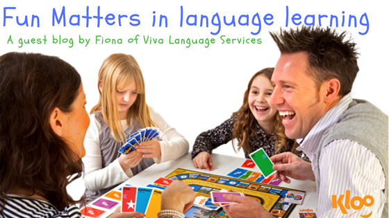 How to make learning a language fun!